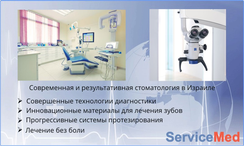 Результативная стоматология Израиля