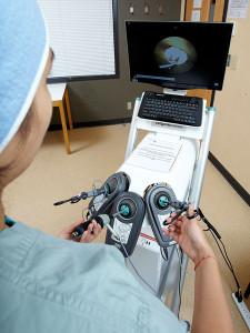 Лечение рака фатерова сосочка в Израиле (лапароскопический тренажер)